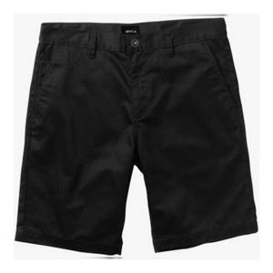 "RVCA Black ""Week-End Stretch"" Shorts, size 32"